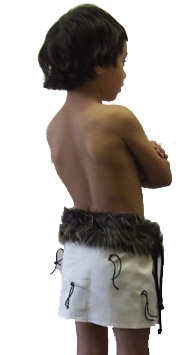 Rapaki Boy's Skirt - Small