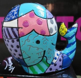 Romero Britto Mini Whale