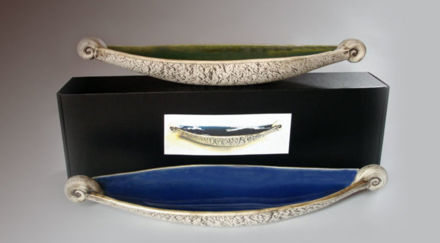 Scroll Bowl by Royce McGlashen