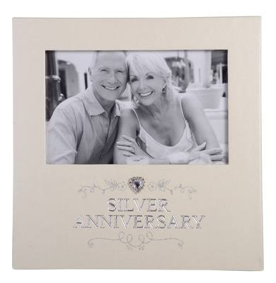 Silver Anniversary Photo Frame