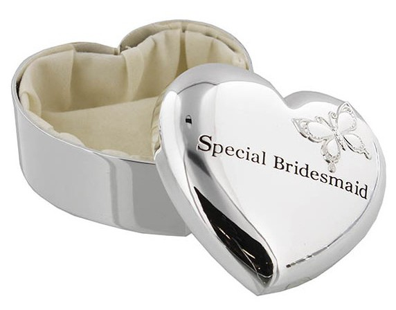 Special Bridesmaid Trinket Box