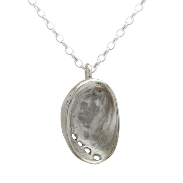 Sterling Silver Paua Necklace