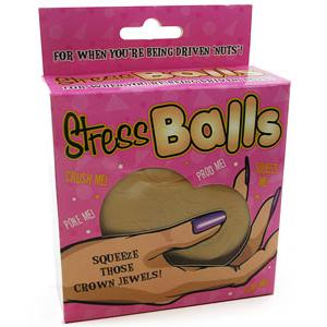 Stress Balls - Squeeze those Crown Jewels