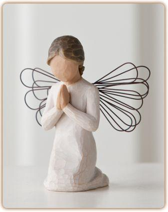 WillowTree Figurine Angel of Prayer
