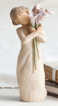 Willow Tree Figurine Beautiful Wishes