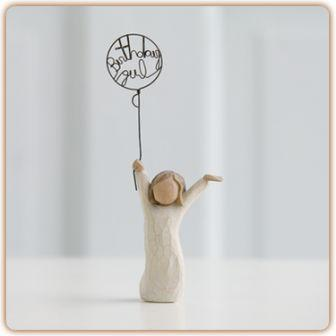 Willow Tree Figurine   Birthday Girl