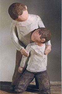 Willow Tree Figurine Brothers