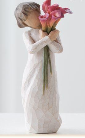 Willow Tree Figurine Bloom