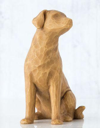Willow Tree Figurine Love My Dog Light