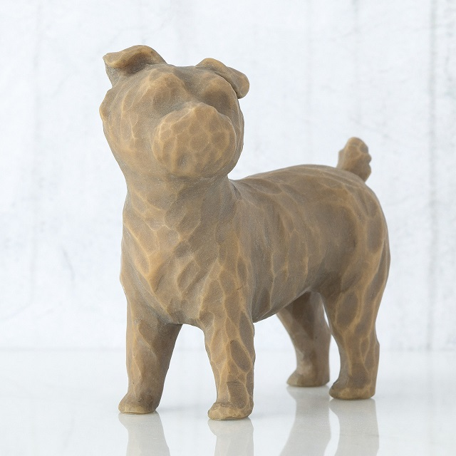 Willow Tree Figurine Love My Dog Small Standing