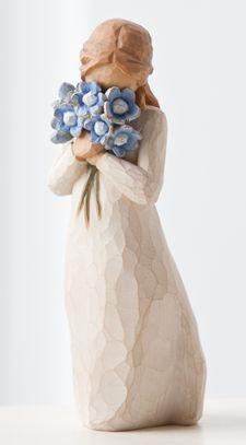 Willow Tree Figurine Forget Me Not