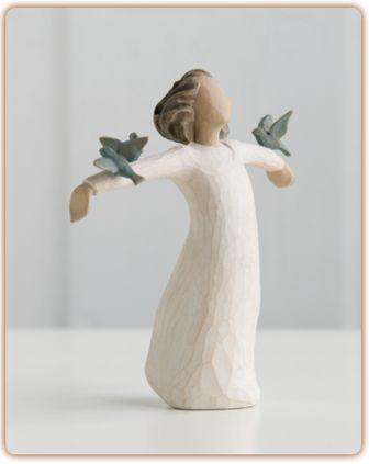 Willow Tree Figurine   Happiness