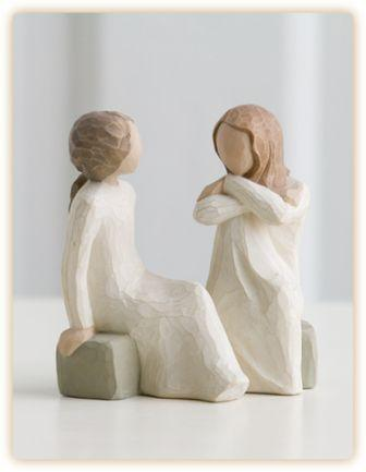 Willow Tree Figurine Heart and Soul