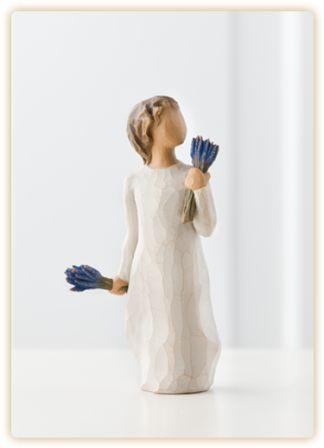 Willow Tree Figurine Lavender Grace