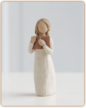 Willow Tree Figurine Love of Learning