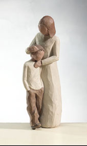 Willow Tree Figurine Mother and Son