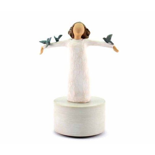 Willow Tree Musical Figurine Happiness