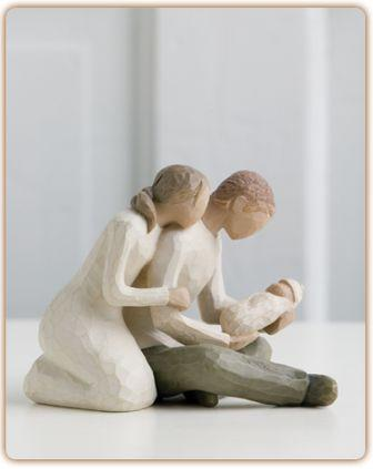 Willow Tree Figurine New Life