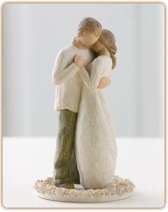 Willow Tree Figurine  Promise Cake Topper