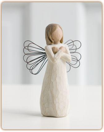 Willow Tree Figurine Sign for Love