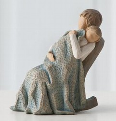 Willow Tree Figurine The Quilt