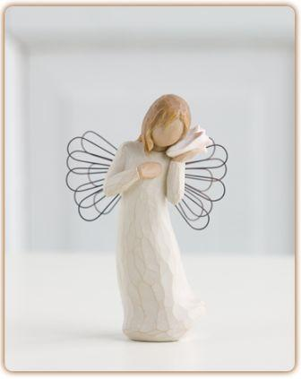Willow Tree Figurine Thinking of You