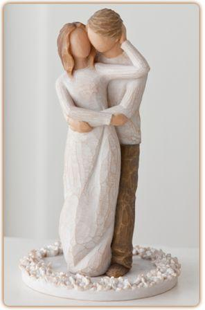 Willow Tree Figurine Together Cake Topper