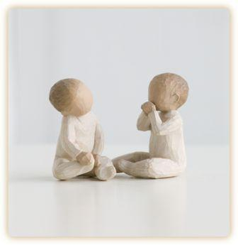 Willow Tree Figurine Two Together