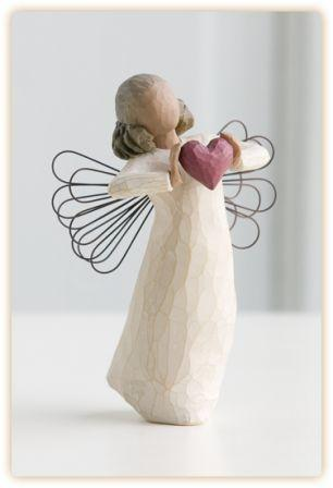 Willow Tree Figurine With Love Angel