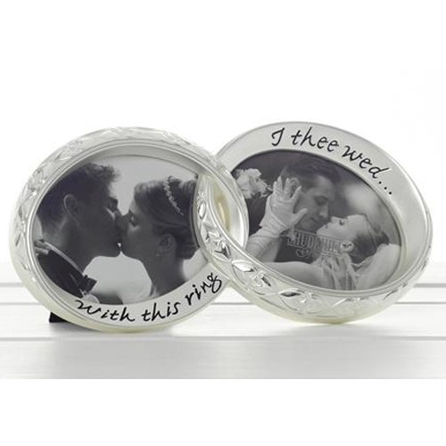 With this ring Wedding Photo Frame