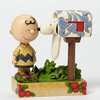 Peanuts Figurines Charlie Brown and Snoopy