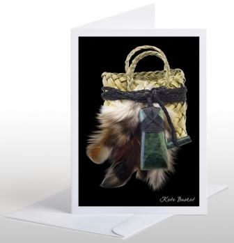 Kete Basket Card and Envelope