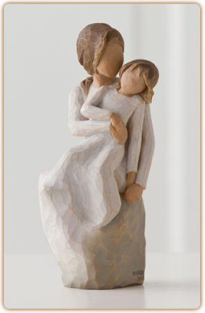 Willow Tree Figurine Mother Daughter - New 2014