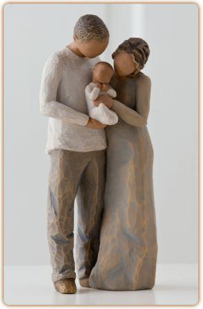 Willow Tree Figurine We are Three - New 2014