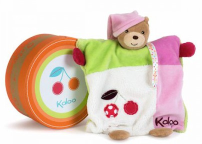 Kaloo Colours Doudou Bear Puppet Girl