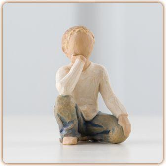 Willow Tree Figurine Inquisitive Child