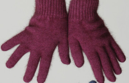 Possum Gloves Fuchsia