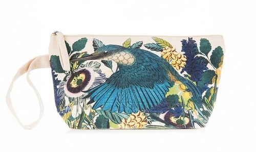 Flox Cotton Pouch Kingfisher