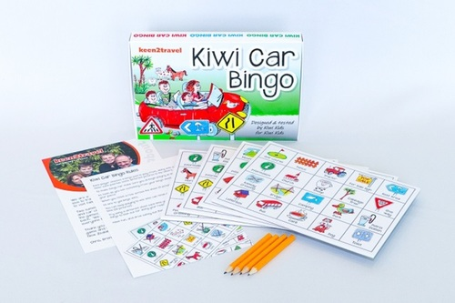 Kiwi Car Bingo Game