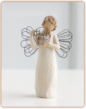 Willow Tree Figurine Just for You (Thank You)