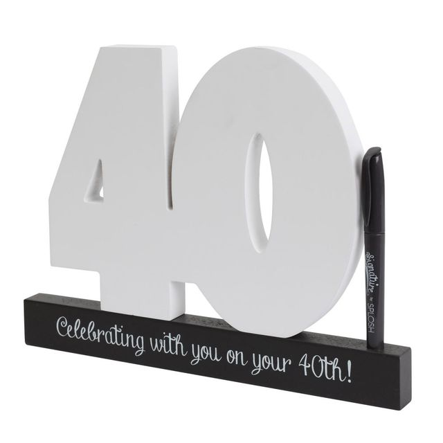40th Birthday Signature Number